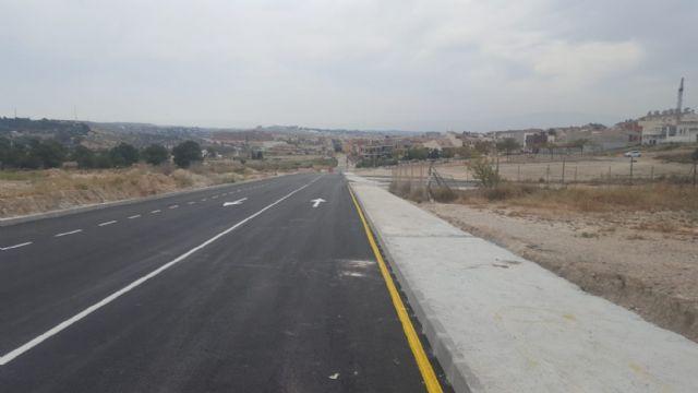 El Ayuntamiento de Molina de Segura abre al tráfico hoy el nuevo tramo de la Ronda Este, con una inversión de 127.741,68 euros - 2, Foto 2