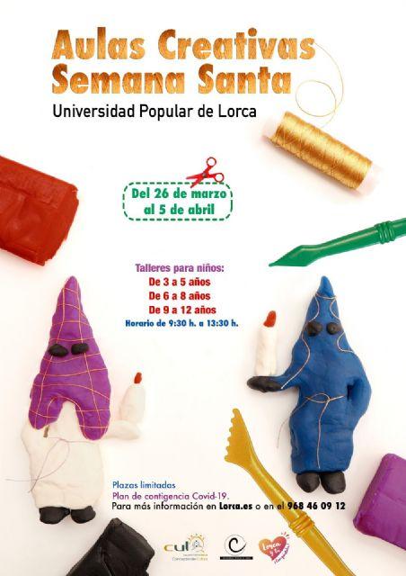 La Universidad Popular pone en marcha una nueva edición del programa 'Aulas Creativas de Semana Santa' para niños y niñas de entre 3 y 11 años - 1, Foto 1