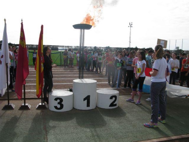 Unos 360 alumnos de 6° de Educación Primaria de los ocho colegios de Totana participan en la Olimpiada Escolar, Foto 3