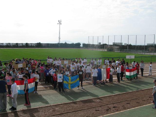 Unos 360 alumnos de 6° de Educación Primaria de los ocho colegios de Totana participan en la Olimpiada Escolar, Foto 5