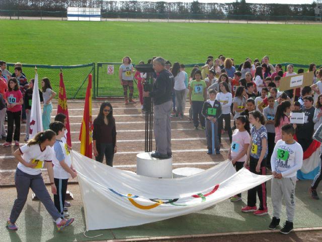 Unos 360 alumnos de 6° de Educación Primaria de los ocho colegios de Totana participan en la Olimpiada Escolar, Foto 6
