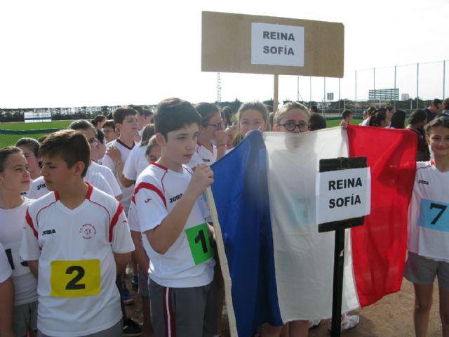 Unos 360 alumnos de 6° de Educación Primaria de los ocho colegios de Totana participan en la Olimpiada Escolar, Foto 7