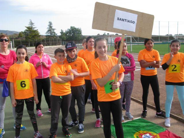 Unos 360 alumnos de 6° de Educación Primaria de los ocho colegios de Totana participan en la Olimpiada Escolar, Foto 8