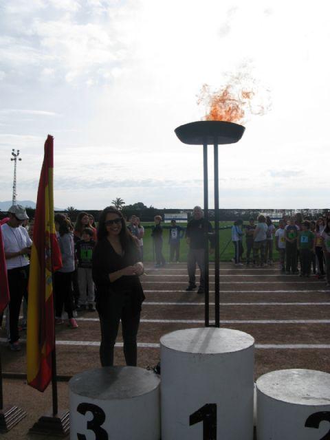 Unos 360 alumnos de 6° de Educación Primaria de los ocho colegios de Totana participan en la Olimpiada Escolar, Foto 9