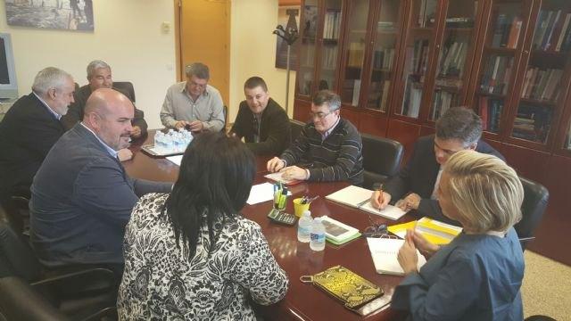 La Consejería concluye la redacción de los proyectos de optimización y modernización de la Comunidad de Regantes de Pliego - 1, Foto 1