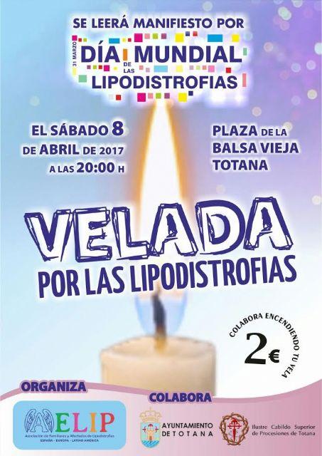Mañana s�bado, d�a 8 de abril, tendr� lugar en Totana la Velada por las lipodistrofias, Foto 1
