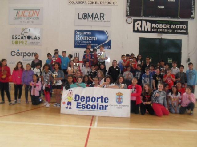 Finaliza la Fase Local de Balonmano Alev�n de Deporte Escolar, Foto 1
