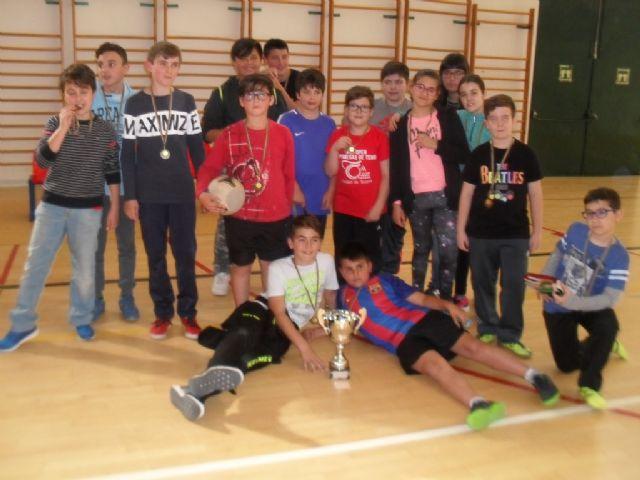 Finaliza la Fase Local de Balonmano Alev�n de Deporte Escolar, Foto 7