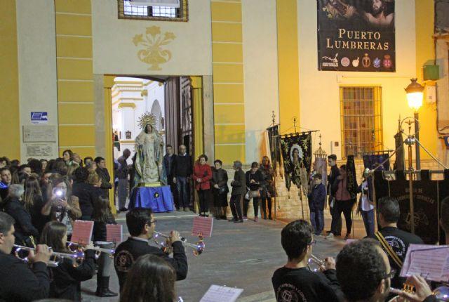 Puerto Lumbreras celebra la Serenata a la Santísima Virgen de los Dolores - 1, Foto 1