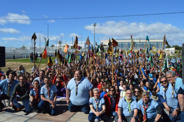 Gran fin de semana scout en Las Torres de Cotillas - 1, Foto 1