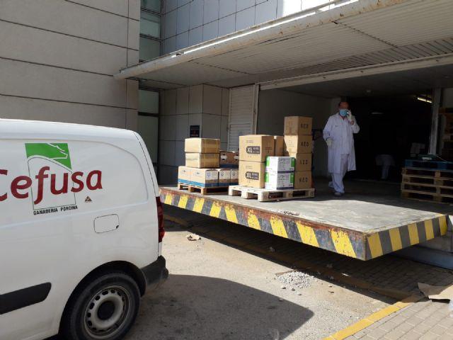 Cefusa dona equipos de protección sanitaria a las zonas rurales para luchar contra el Covid-19, Foto 1