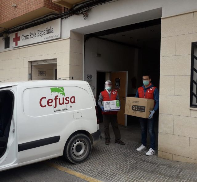 Cefusa dona equipos de protección sanitaria a las zonas rurales para luchar contra el Covid-19, Foto 2