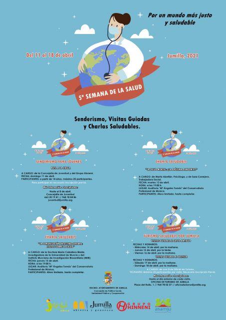 Presentada la V Semana de la Salud que incluye charlas, visitas guiadas y senderismo - 1, Foto 1