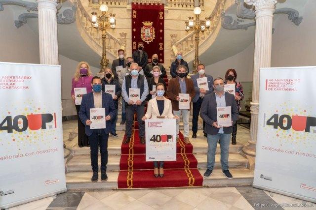 Cartagena nombra 2021 como Año conmemorativo del 40 Aniversario de la Universidad Popular - 1, Foto 1