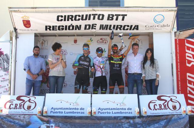 300 ciclistas participan en el Campeonato Regional XCM y tercera prueba de BTT Región de Murcia disputada en Puerto Lumbreras - 3, Foto 3