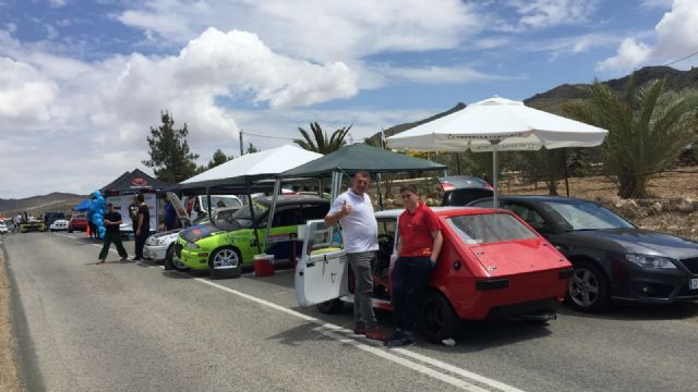 Good performance of the drivers of the Automobile Club Totana in the Subida a Mazarrón