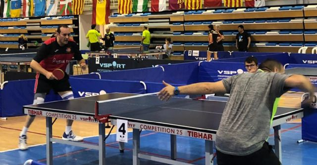 Spanish Association Table Tennis Veterans Association With more than 500 participants, in the town of Altea, on Wednesday 1 began the team test of the most important veterans championship in Spain