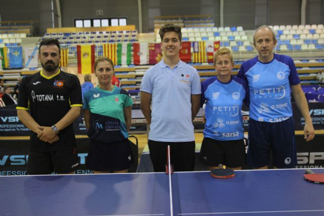 Spanish Association Table Tennis Veterans Association With more than 500 participants, in the town of Altea, on Wednesday 1 began the team test of the most important veterans championship in Spain - 2