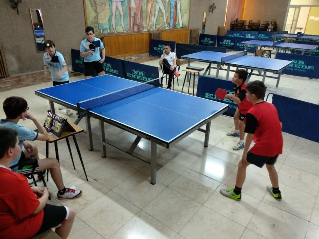 Spanish Association Table Tennis Veterans Association With more than 500 participants, in the town of Altea, on Wednesday 1 began the team test of the most important veterans championship in Spain - 7