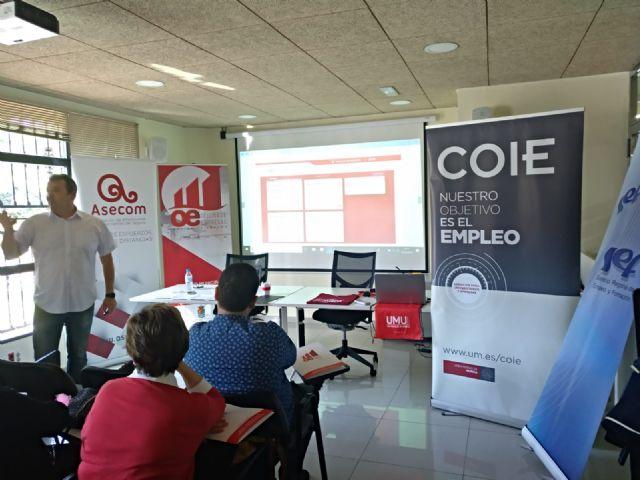 El Ayuntamiento de Molina de Segura organiza una sesión informativa conjunta entre el COIE y el SEF para asesoramiento a empresas - 3, Foto 3