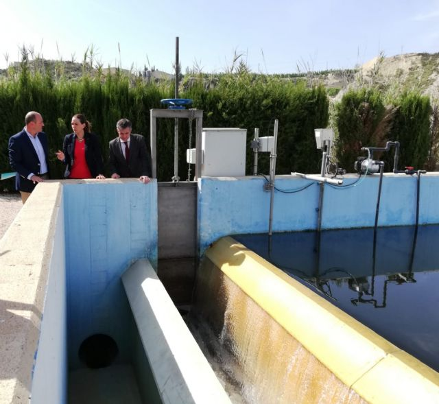 La Comunidad instala un sistema en la depuradora de Archena que mejora los fangos y minimiza los vertidos durante las lluvias - 2, Foto 2