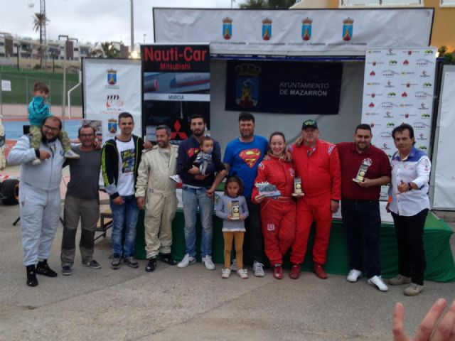 The Automobile Club Totana sweeps the 37th edition of the Ascent to the Beaches of Mazarrón