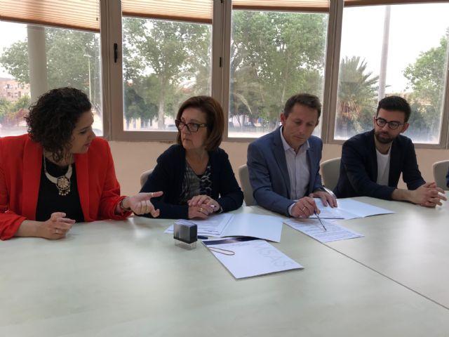 El Ayuntamiento de Torre Pacheco y la Asociación PROMETEO renuevan convenio de colaboración - 3, Foto 3
