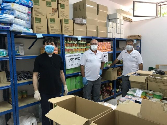 Itete Conecta ha donado 6.000 productos de material de limpieza y alimentos a familias con escasos recursos de Murcia - 2, Foto 2
