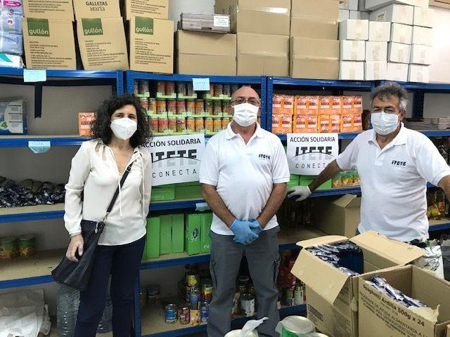 Itete Conecta ha donado 6.000 productos de material de limpieza y alimentos a familias con escasos recursos de Murcia - 3, Foto 3