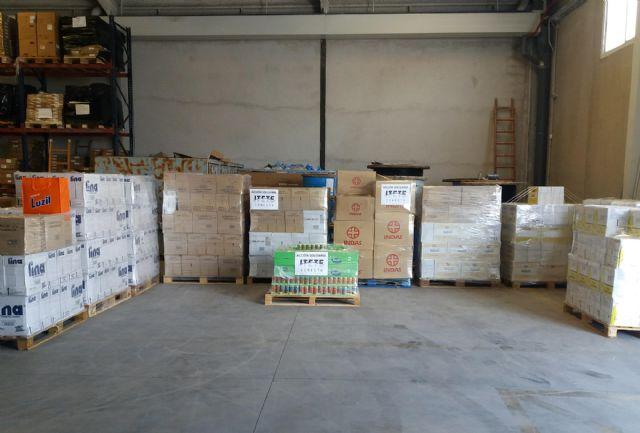 Itete Conecta ha donado 6.000 productos de material de limpieza y alimentos a familias con escasos recursos de Murcia - 4, Foto 4