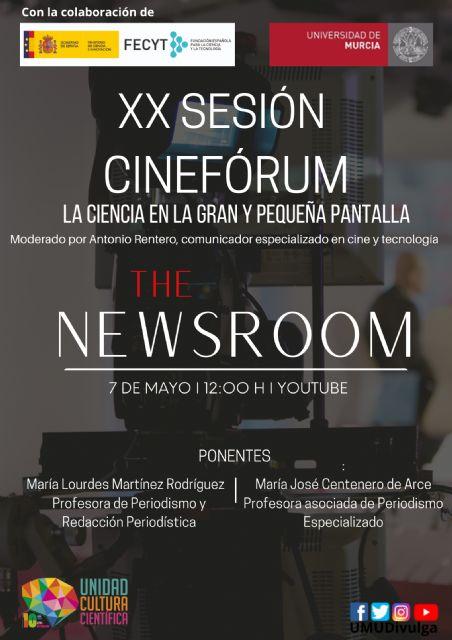 La nueva sesión del cinefórum ´La Ciencia en la gran y pequeña pantalla´ de la UMU se adentra en el periodismo - 1, Foto 1