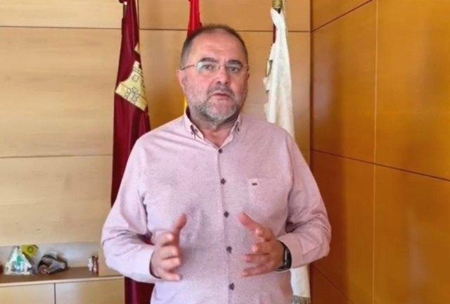 El alcalde valora la situación de la pandemia en este municipio y muestra su satisfacción por la actitud de la ciudadanía de Totana