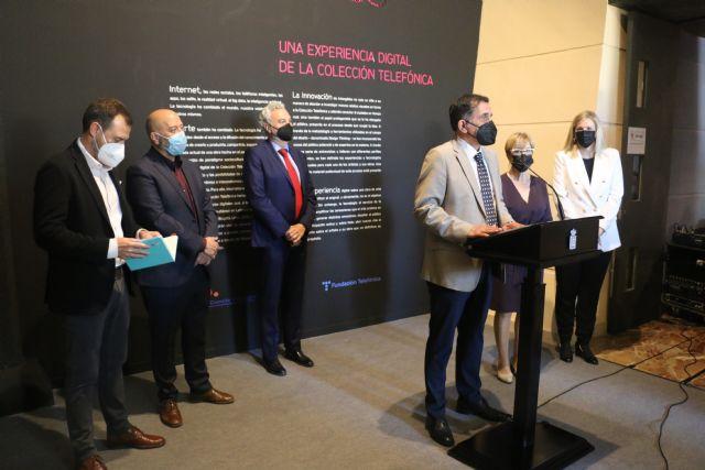 ´Intangibles´ llega al museo de la ciencia y el agua de Murcia con una experiencia digital de la colección telefónica - 1, Foto 1