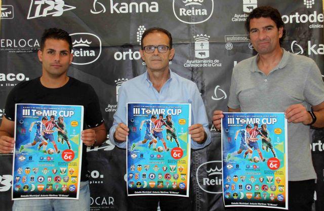 Una veintena de clubes participa este fin de semana en la tercera edición del torneo Tomir CUP, Foto 1