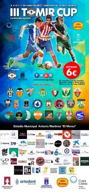Una veintena de clubes participa este fin de semana en la tercera edición del torneo Tomir CUP, Foto 3