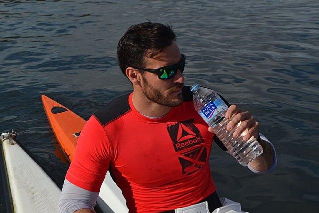 Saúl Craviotto se convierte en embajador del agua mineral Aquadeus, Foto 1