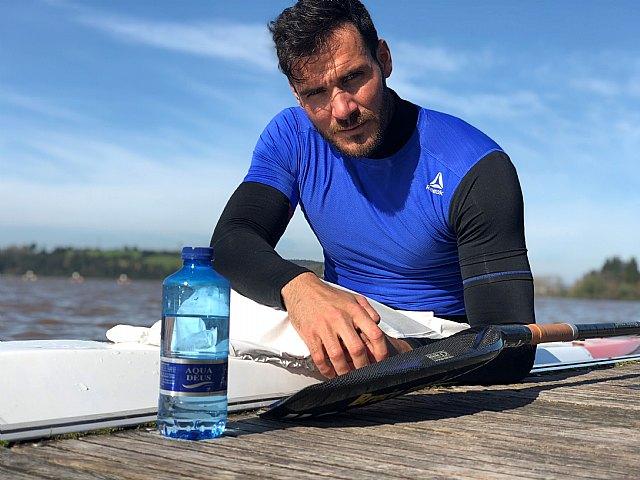 Saúl Craviotto se convierte en embajador del agua mineral Aquadeus, Foto 2