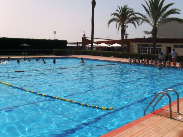 "The swimming pools of the Municipal Sports Center ""December 6"" will open next Saturday, June 9 - 1"