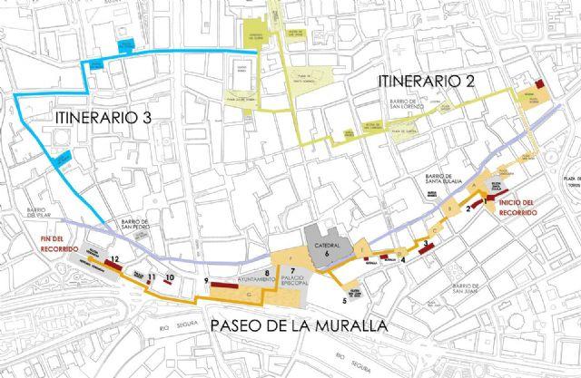 Un recorrido por el trazado original de la muralla permitirá descubrir los vestigios de la Murcia Medieval - 1, Foto 1