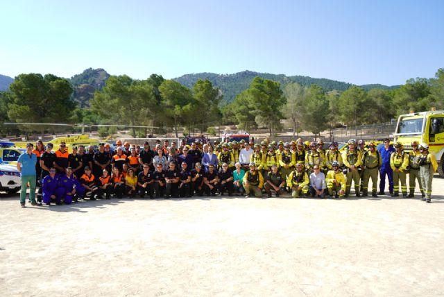 El Plan Infomur moviliza a 516 personas a diario para la lucha contra los incendios, Foto 1
