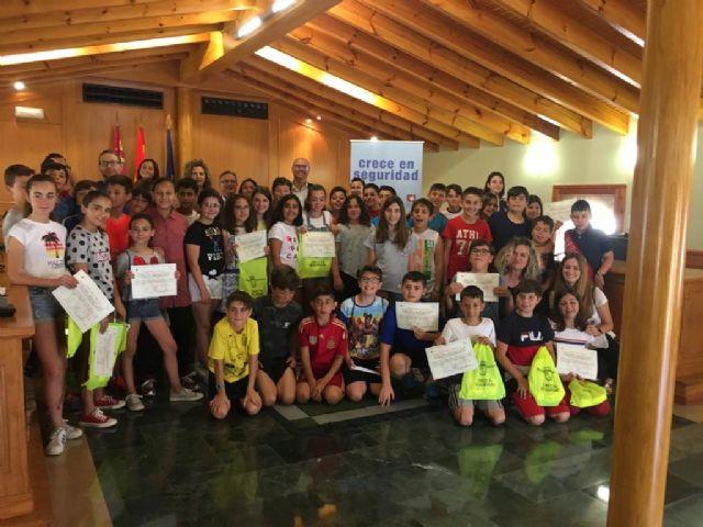 Entrega de diplomas del concurso infantil «Crece en seguridad» - 5, Foto 5