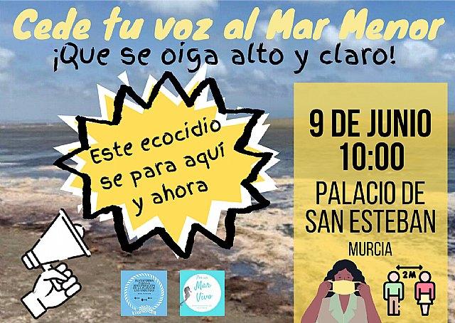 La Plataforma para La Recuperación De La Playa de Los Urrutias y Su Entorno y Por un Mar Vivo convocan una concentración - 2, Foto 2