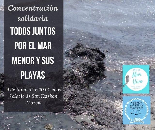 La Plataforma para La Recuperación De La Playa de Los Urrutias y Su Entorno y Por un Mar Vivo convocan una concentración - 3, Foto 3