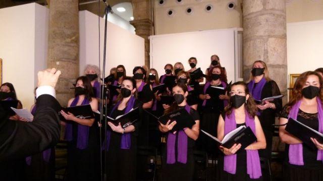Coral Discantus y Banda Sinfónica de Cabezo de Torres graban GRANDES COROS DE ÓPERA en el Palacio Almudí de Murcia - 1, Foto 1