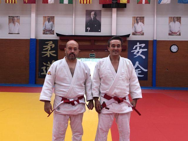 José García-Alcaraz y José María Fernández nuevos 7* DAN de Judo - 1, Foto 1