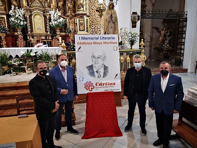 [Se entregan los premios del I Certamen Memorial Ildefonso Moya, convocado por Cáritas Santiago