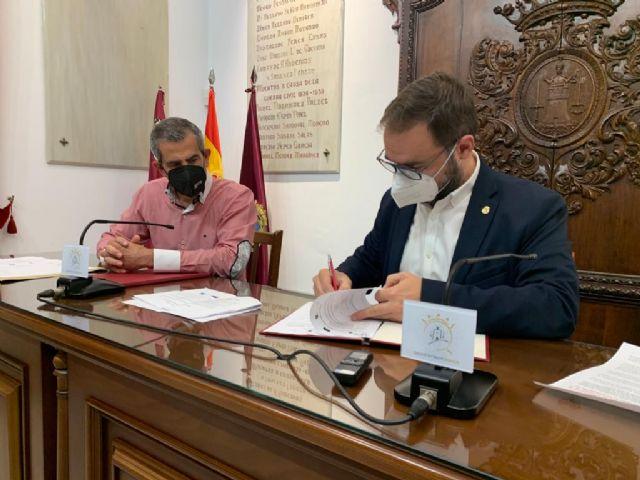 El Ayuntamiento de Lorca firma con Campoder la recepción de dos ayudas para el desarrollo de mejoras en el Parque de El Consejero y el fomento del autoempleo en las pedanías del sur - 2, Foto 2