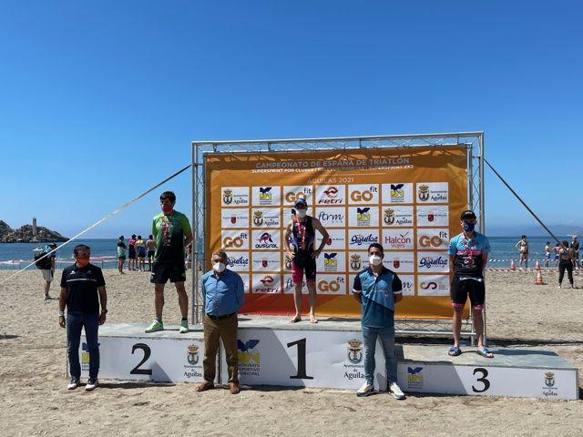 Cidade de Lugo Fluvial se alza en Águilas con los títulos femenino y masculino de Triatlón SuperSprint por Clubes 2x2 - 1, Foto 1
