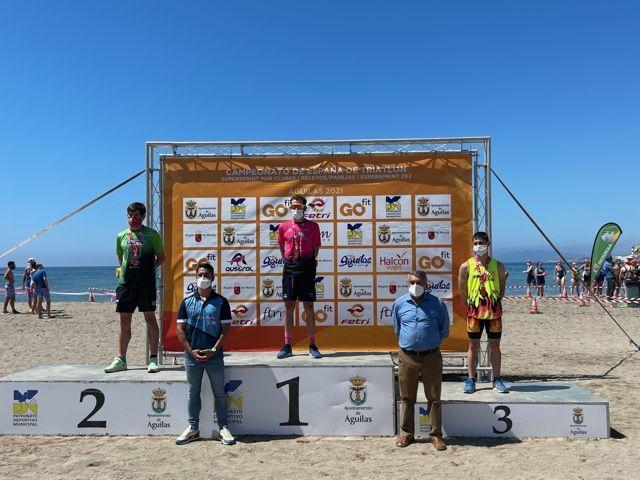 Cidade de Lugo Fluvial se alza en Águilas con los títulos femenino y masculino de Triatlón SuperSprint por Clubes 2x2 - 2, Foto 2