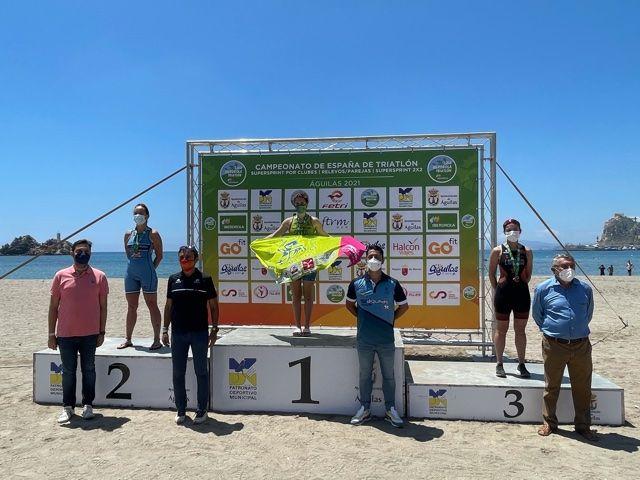 Cidade de Lugo Fluvial se alza en Águilas con los títulos femenino y masculino de Triatlón SuperSprint por Clubes 2x2 - 4, Foto 4